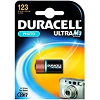 Duracell Batterie Foto 'Ultra M3' Lithium DL 123A 1Stück in Blisterverpackung