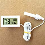 Zantec Mini Digital LCD Thermometer Hygrometer Humidity Temperature -50 Celsius to 70 Celsius