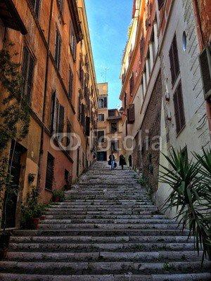 leinwand-bild-50-x-70-cm-scalinata-al-rione-monti-a-roma-bild-auf-leinwand