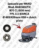 SPAZZOLA LAVARE per lavapavimenti HAKO modello HAKOMATIC B70 CL (850mm)