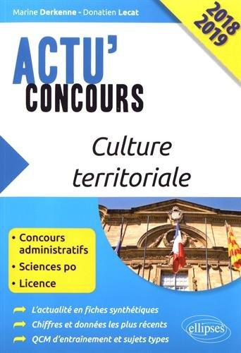 Culture territoriale 2018