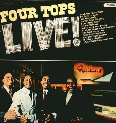 Four Tops Live by FOUR TOPS - Tops-live Four