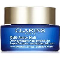 Clarins Multi Active Crema de Noche, Piel Normal a Mixta - 50 ml