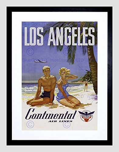 travel-la-los-angeles-continental-airline-beach-tropicalad-art-print-b12x1414