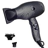 Ionic Hair Dryer,Professional 1800W Salon Hairdryer, 2 Speed 3 Heat Cool Shot Setting