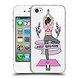 Head Case Designs Pose Baum Yoga Girls Ruckseite Hülle für iPhone 4 / iPhone 4S