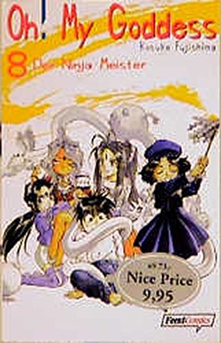 Oh! My Goddess 08. Der Ninja-Meister.