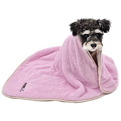 Autos Tröster (PAWZ Road Haustier-Katze-Hundedecke mit Seiten versehener großer weicher Breathable waschbarer haltbarer Komfort-Samt Mit für kleine mittlere große Hunde Rosa)