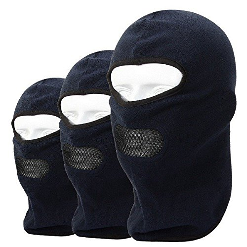 07551f332d9 Bureze Outdoor Sports Ski Bicycle Full Face Mask Hat Cap Fleece Balaclava  Neck