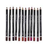 Hotaluyt 12 Colori Professionale LONGWEAR Lip Liner matite Impermeabile Belle Lip Liner Set