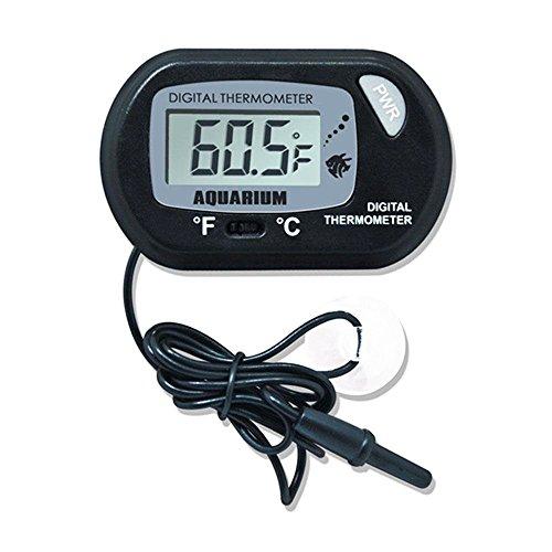 DaoRier LCD Digitales Wasser Thermometer für Terrarium Aquarium Vivarium -50~+70℃