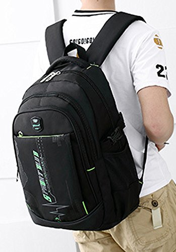Keshi Leinwand Niedlich Damen accessories hohe Qualität Einfache Tasche Schultertasche Freizeitrucksack Tasche Rucksäcke Grau