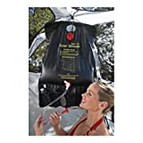 Texsport 5 Gallon Outdoor Portable Solar Shower for Camping Hiking Backpacking by Texsport