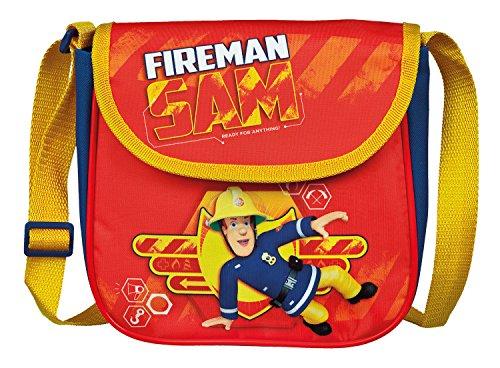 Undercover FSBT7292 - Feuerwehrmann Sam Kindergartentasche, zum Umhängen, ca. 21 x 22 x 8 cm