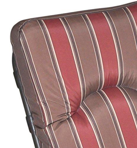 Royalcraft Amalfi Padded Single Glider Chair including cushion