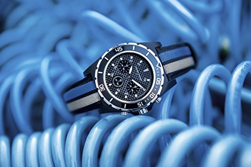 Original VW Armbanduhr Motorsport Kollektion, schwarz