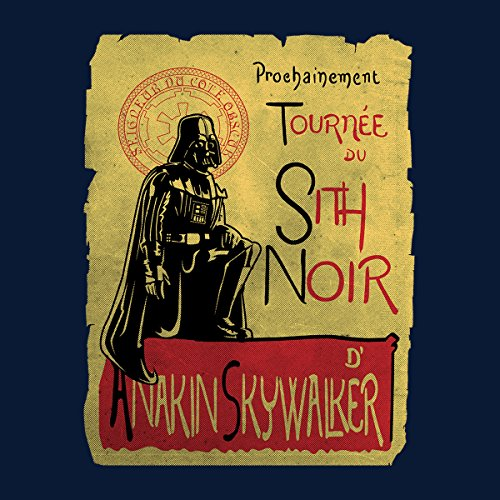 Tournee Du Sith Noir D Anakin Skywalker Star Wars Women's Vest Navy Blue