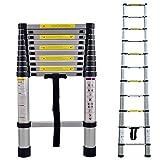 LARS360 Teleskopleiter Multifunktionsleiter Ausziehleiter Anlegeleiter Mehrzweckleitern Hochwertigem aluminium Leiter