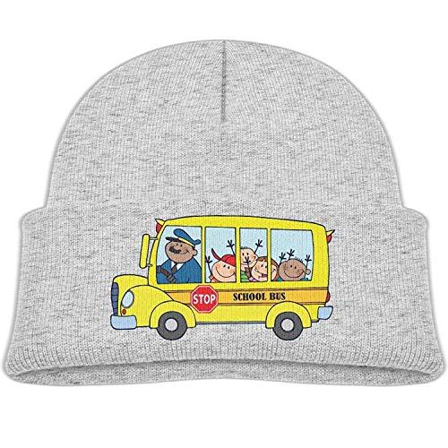 U-Only Yellow School Bus Winter Knit Hats Baby Warm Beanie Cap Girl f18e7265cfa
