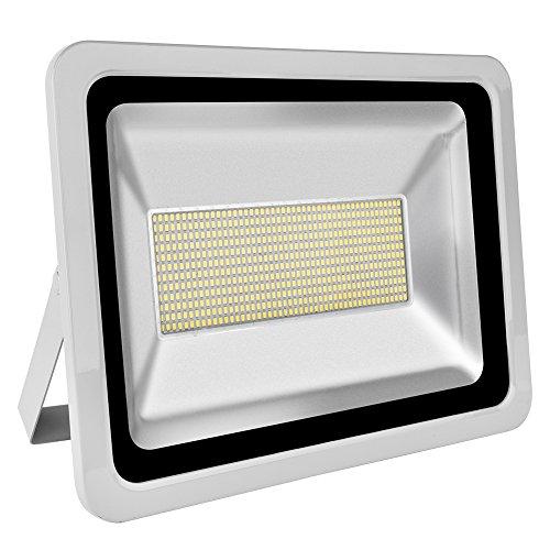 LED-Flutlicht, Yuanline High Bay Light, Außenstrahler Spot Light Wall Light Extrem helles Sicherheitslicht, Waterproof IP65, AC 220 - 240V [Energieeffizienzklasse A +] (Kaltes Weiß, 300W)