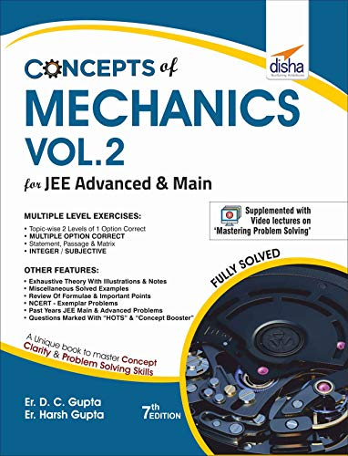 Concepts of Mechanics for JEE Advanced & Main - Vol.2