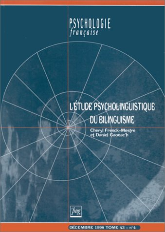Etude psycholinguistique du bilinguisme
