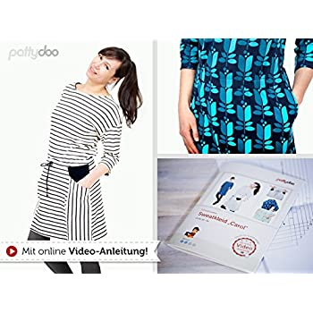 Schnittmuster Pattydoo Sweatkleid Carol: Amazon.de: Küche & Haushalt