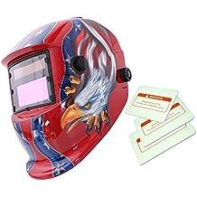 Máscara Automático Soldadura de Oscurecimiento Solar Casco Arco Tig Mig Soldador Patrón ...
