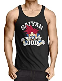 style3 Goku Saiyan Training-Level God Débardeur Homme Tank Top