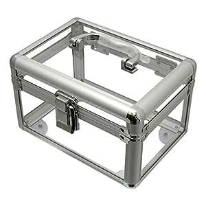 Étui de rangement en plastique transparent, idéal pour les loisirs créatifs, Vanity de maquillage