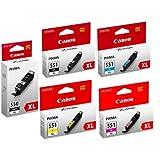 Canon CABUNDLE17 Cartouche d'Encre Multipack de 5