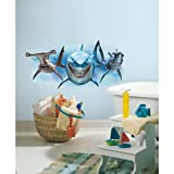 RoomMates Children's Repositonable Disney Wall Stickers, Finding Nemo - Best Reviews Guide