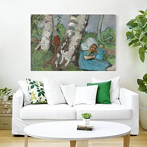 Bilderwelten Impression sur toile - Paula Modersohn-Becker - Child with