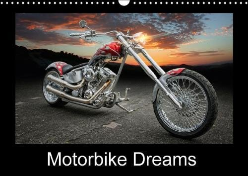 Motorbike Dreams (Wall Calendar 2018 DIN A3 Landscape): Choppers and Custom Bikes (Monthly calendar, 14 pages ) (Calvendo Technology)