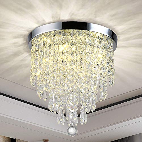 Hängeleuchte rund SEBSON Stoff 3x LED Lampe E27 5W