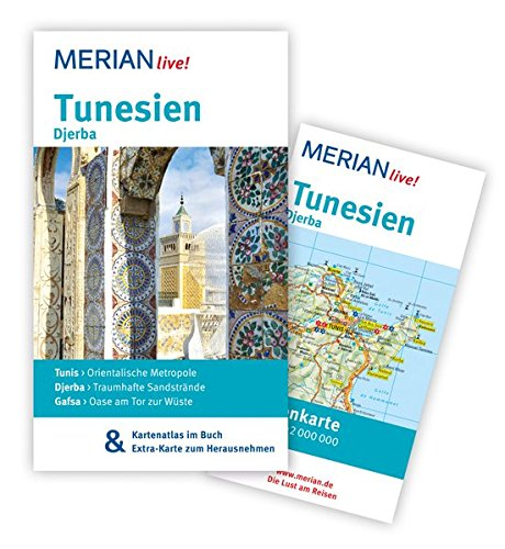 Preisvergleich Produktbild Tunesien Djerba: MERIAN live! - Mit Kartenatlas im Buch und Extra-Karte zum Herausnehmen