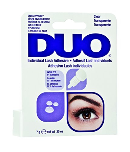 Ardell Duo Individual Lash Adhesive Clear / Transparent, Wimpernkleber, das Original, 1er Pack (1 x 7g)
