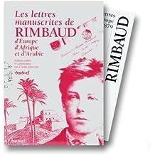 Les Lettres manuscrites de Rimbaud, d'Europe, d'Afrique et d'Arabie, coffret (4 volumes)