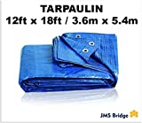 TARPAULIN. HEAVY DUTY. 100% WATERPROOF. SIZE : 12ft x 18ft