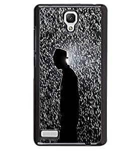 PRINTVISA Abstract Man Case Cover for Xiaomi Redmi Note::Xiaomi Redmi Note 4G