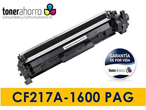 Tonerahorro - Toner Compatible CF217A 17A HP Pro M102W,M130NW,M102A,M130A,M130FW-1.6K