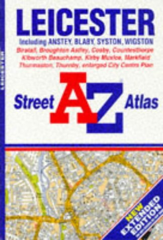 A. to Z. Street Atlas of Leicester (A-Z Street Atlas) for sale  Delivered anywhere in UK