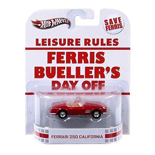 Hot Wheels Retro Ferris Buellers Day Off 1:55 Die Cast Car Ferrari 250 California by Mattel
