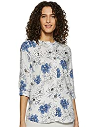 Annabelle By Pantaloons Women's Floral Regular fit Top