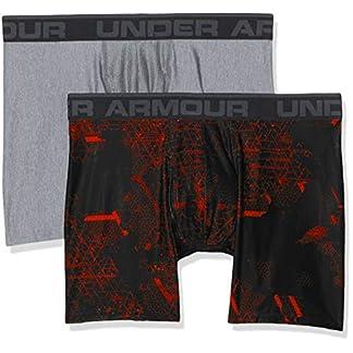 Under Armour, O-Series 6in Boxerjock 2pk Novelty, Boxer, Hombre