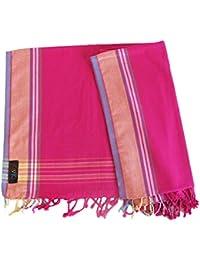 Kisiki -100% coton Kikoy pareo / sarong - accessoire des voyages et des vacances