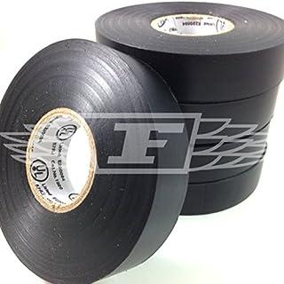 Isolierbänder PVC Elektrisch 19mm x 20m Schwarz x 1 - schwarz, Schwarz, 1 Packung, Einzelpackung