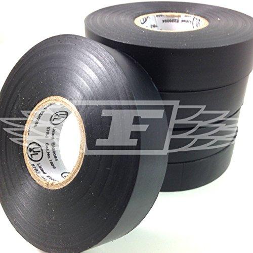 3 X Insulation Tape PVC Electrical 19mm x 20m Black x 1