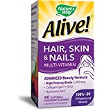 Nature's Way Hair - Skin & Nails Multi-Vitamin, 60 Softgel