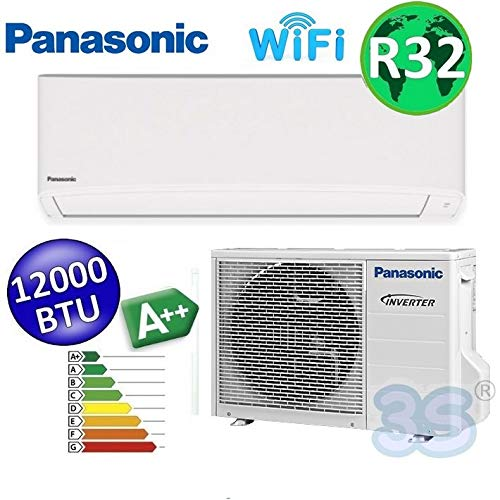 Split raum gerät R32 WiFi PANASONIC Klimaanlage 3,5 KW A++ TZ Sprachsteuerung
